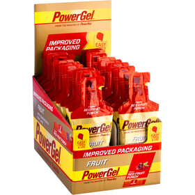 PowerBar PowerGel Original - Nutrición deportiva - Red Fruit Punch 24 x 41g